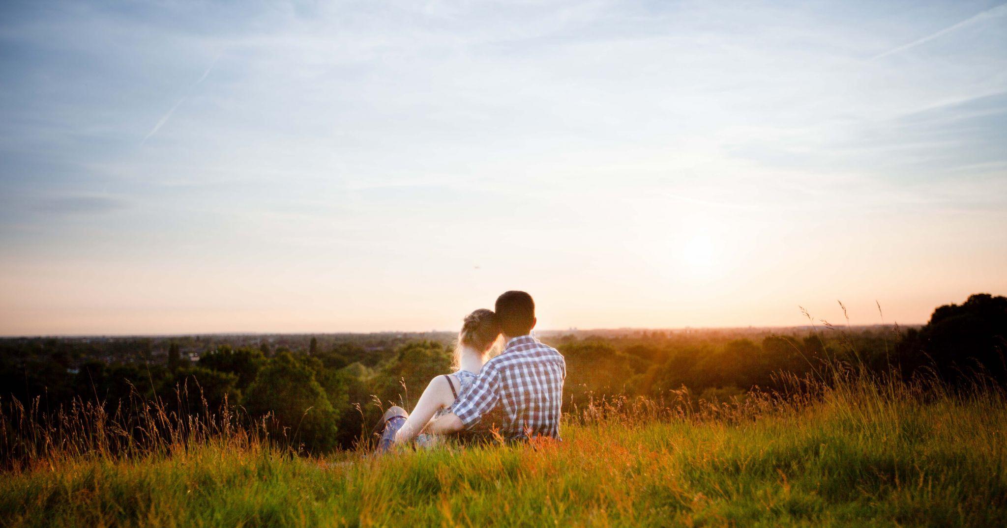 Richmond Park, Engagement shoot