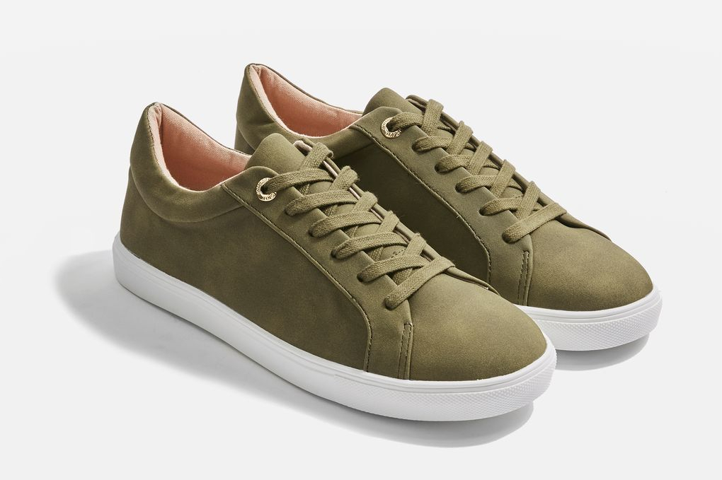 Cookie Lace Up Trainers